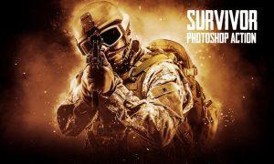Survivor Photoshop Action 4358Y6