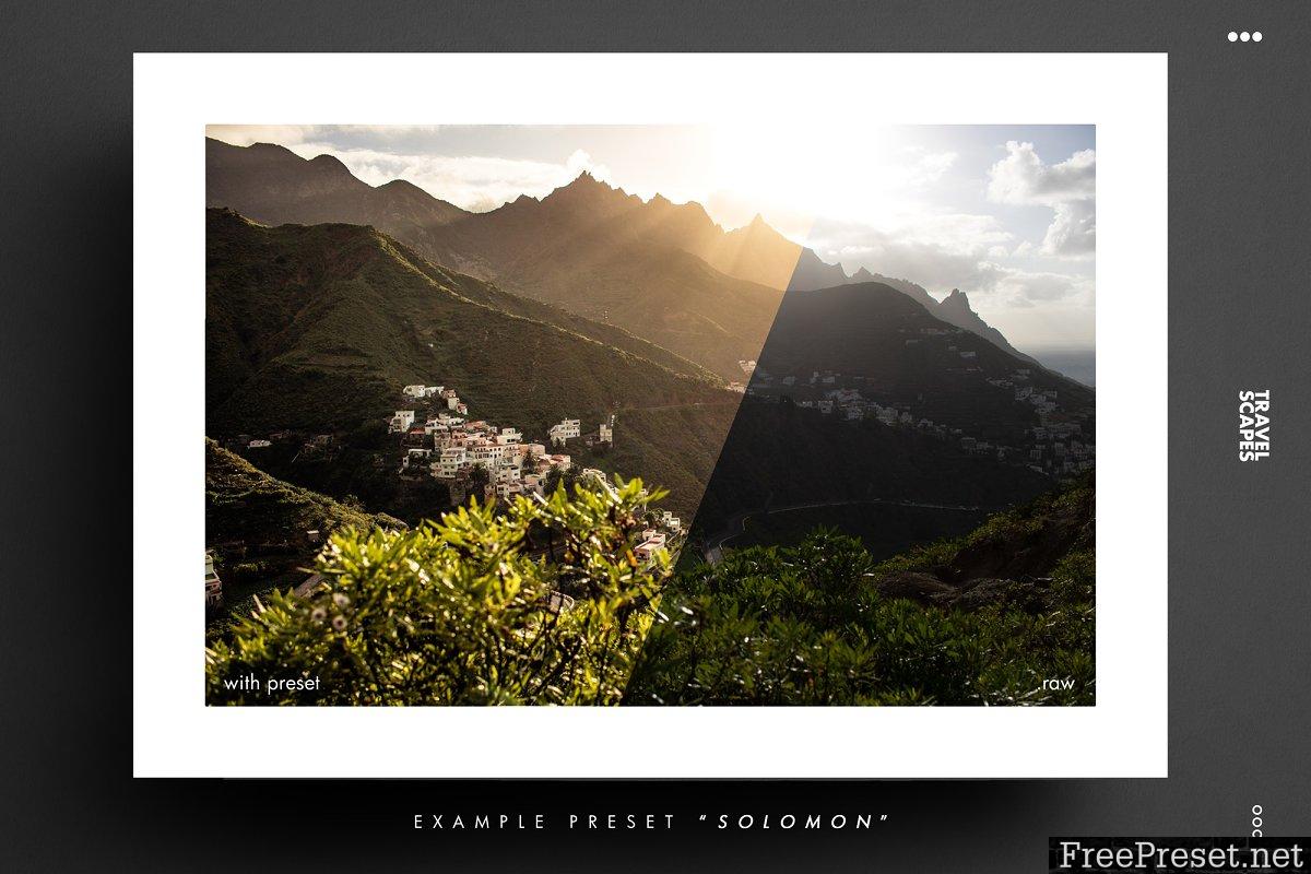 TRAVEL SCAPES LR Landscape Looks 3743607