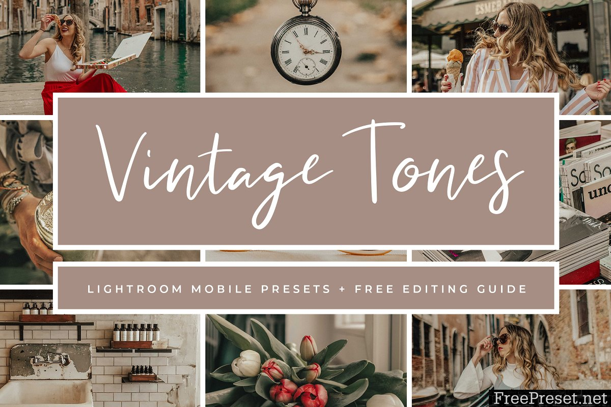 Vintage Lightroom Mobile Presets 3763286