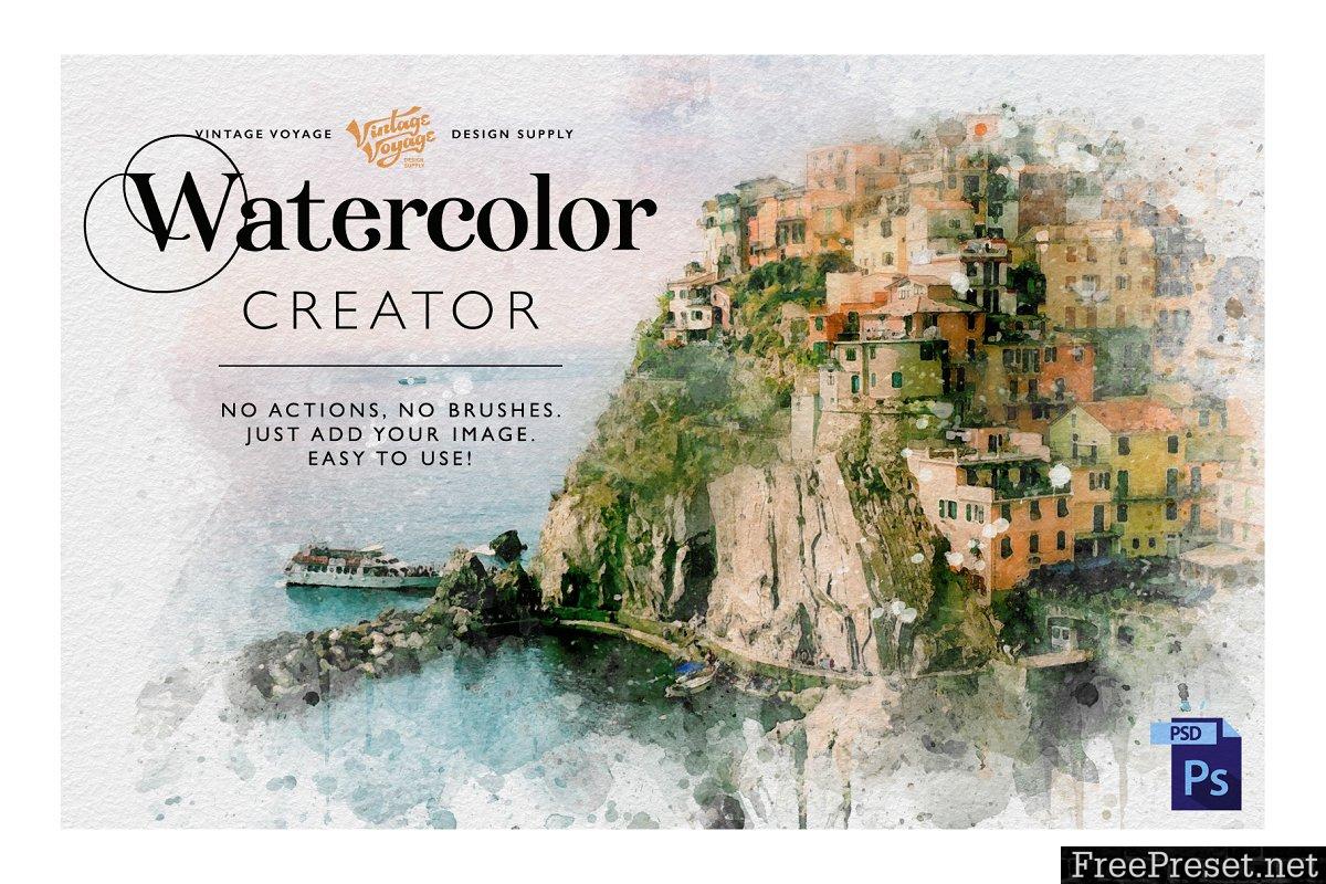 Watercolor Creator 3743739