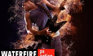 Waterfire Photoshop Action 88DEYN