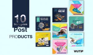 10 Instagram Post Banner-Products RYF6V2