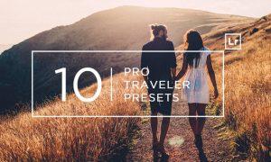 10 Pro Traveler Lightroom Presets