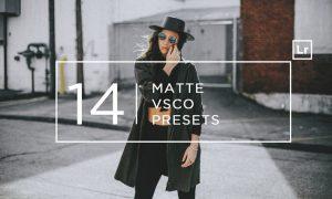 14 Matte + VSCO Lightroom Presets