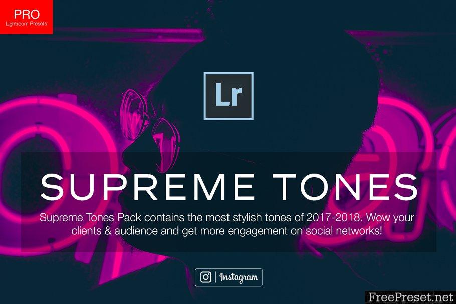 140+ Supreme Tones Lightroom Presets 2166701