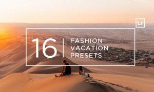 16 Fashion Vacation Lightroom Presets