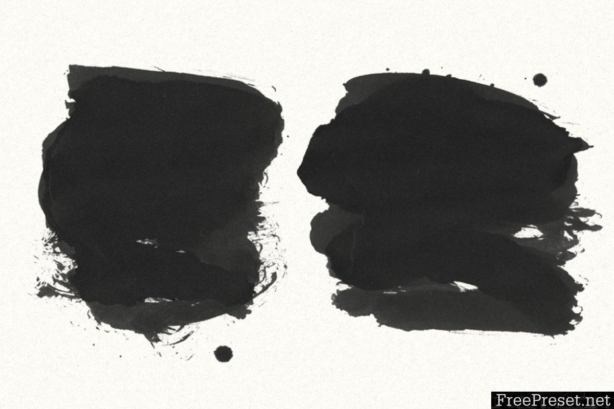 30 Gofe Ink Photoshop Brushes 3556166