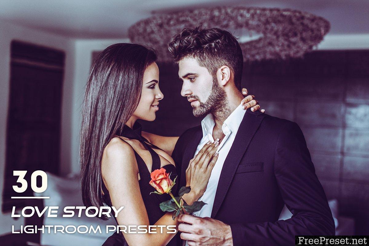 30 Love Story Lightroom Presets 3841331