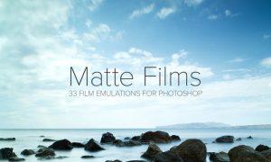 33 Matte Film Emulation Actions BFMH2X