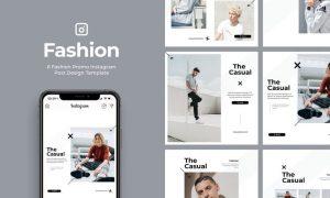 6 Promo Fashion Instagram Post Vol.2 86WSXUK - PSD, PDF