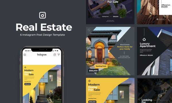 6 Real Estate Instagram Post Vol.1