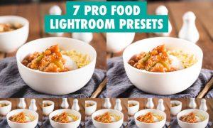 7 Pro Food Lightroom Presets