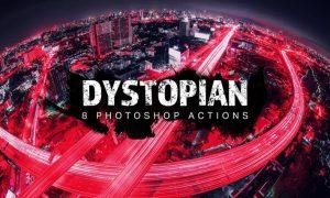 8 Dystopian Photoshop Actions 66ZTM6