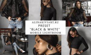 Alina Kiviart - Black & White Lightroom/ACR & Mobile Presets