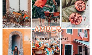 AMBER LIGHTROOM MOBILE PRESET 3837945