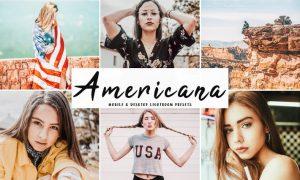 Americana Mobile & Desktop Lightroom Presets
