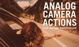 Analog Camera Actions for Adobe Photoshop 4NH9LU