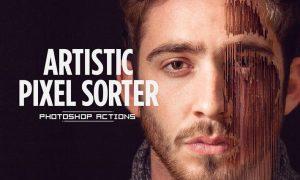 Artistic Pixel Sorter - Photoshop Actions 259A2A