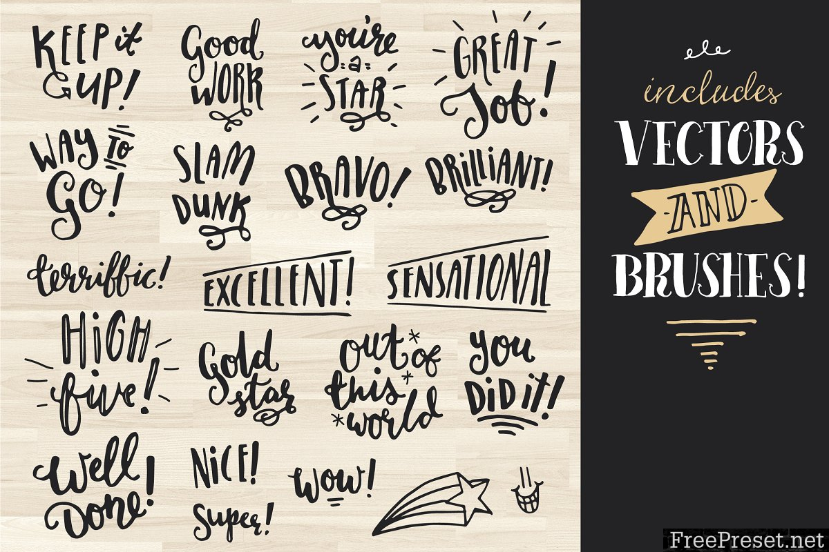 Awesome Encouragement Stamps! 1179311