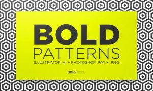 Bold Patterns XXDXUD - AI, PNG, PSD