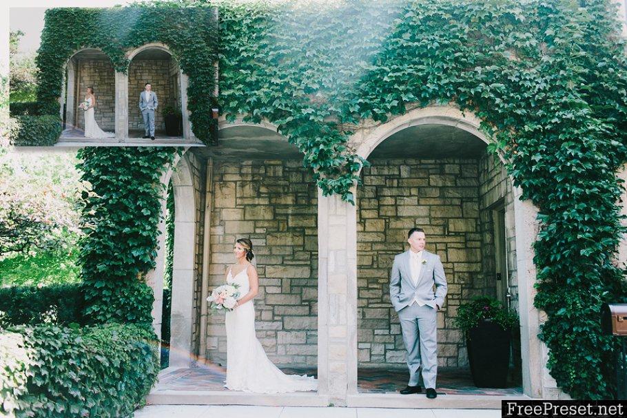 100 pcs Film Wedding Lightroom Presets Email Delivery