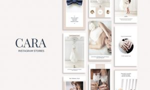 Cara Instagram Stories - 73PC65 - PSD, PDF