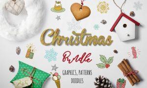 Christmas Graphic Bundle L52HYH - EPS, AI, PNG, JPG, PSD
