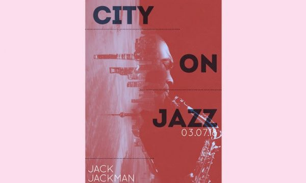 City on Jazz Flyer Poster MLTZG4 - PSD