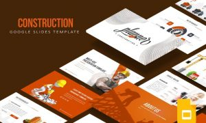 Construction Google Slides Template - ZGUTPT -  PPTX