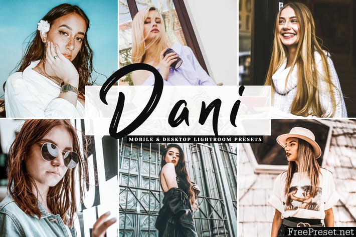 Dani Mobile & Desktop Lightroom Presets