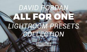 David Pordan All for One Lightroom Presets Collection