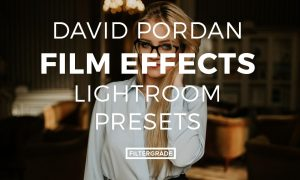 David Pordan Film Effects Lightroom Presets
