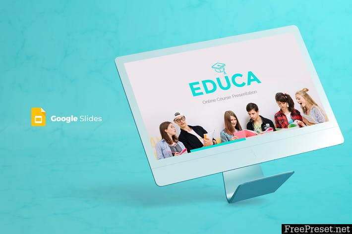 Educa - Google Slides Template - UCLFP5 - PPTX