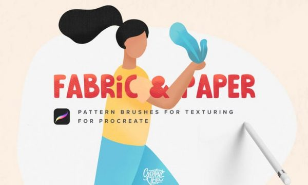 Fabric & Paper Procreate Brushes 3UD7NT9 - PDF