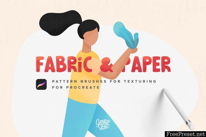 Fabric & Paper Procreate Brushes 3UD7NT9 - PDF