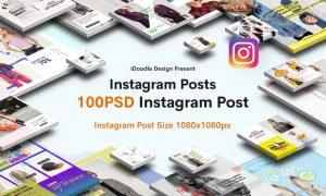 Fashion Instagram Posts VPV4HX - PSD