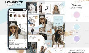 Fashion Puzzle - Instagram Posts 23970677