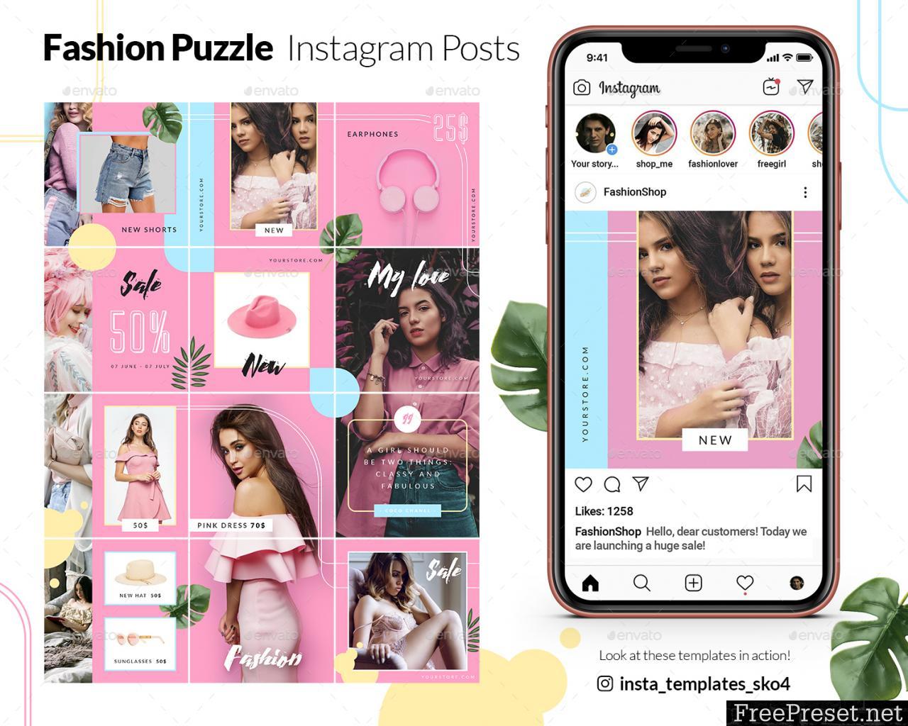 Fashion Puzzle - Instagram Posts 24007787
