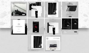 Fashionista Instagram Post Vol.1 QYM957P - PSD, PDF