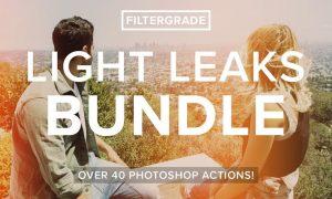 FilterGrade Light Leaks Bundle YC5DVX