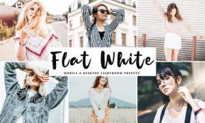Flat White Mobile & Desktop Lightroom Presets