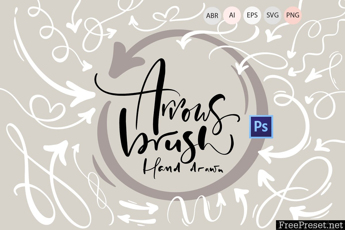 Hand drawn arrows brush 3377231