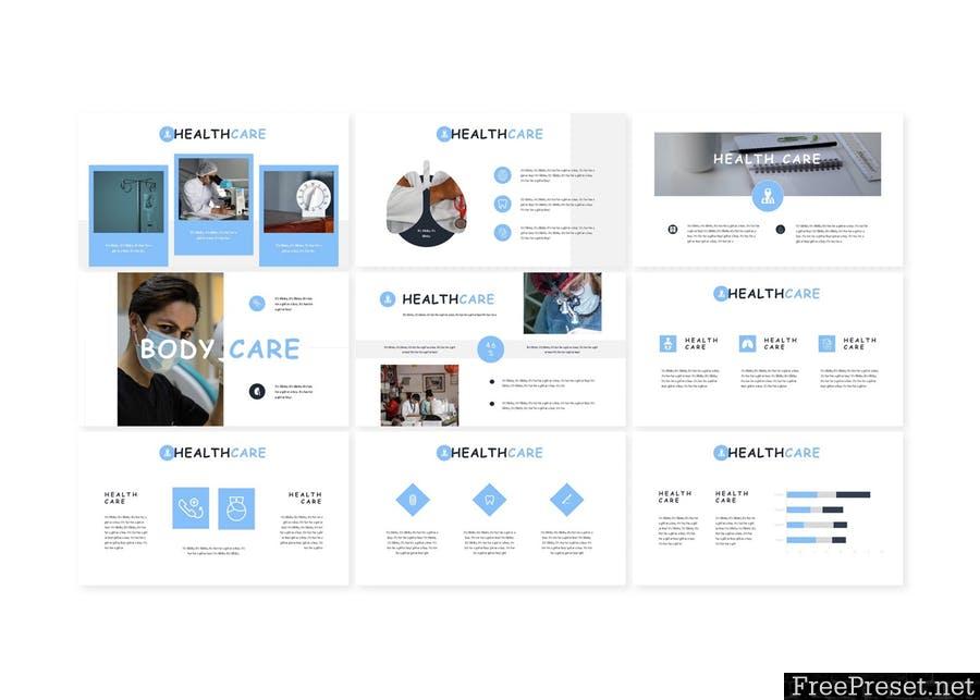 Healthcare - Powerpoint Template U7ZBXLK - PPTX
