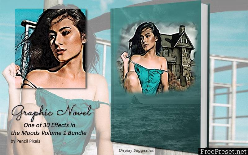 InkyDeals Mood Effects Photoshop Scripts Bundle- Vol 1 & Vol 2