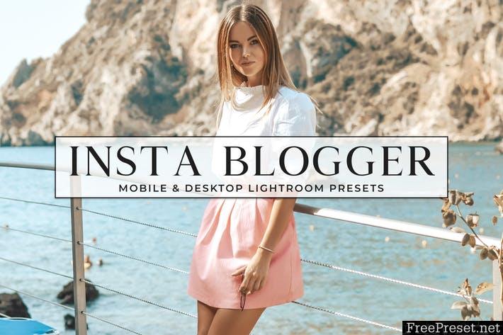 Insta Blogger Desktop and Mobile Lightroom Presets