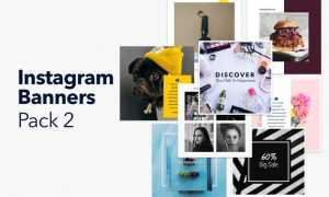 Instagram Banners Pack 2 M55RAL