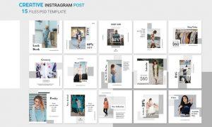 Instagram Shopping Posts XL23Q5R - JPG, PSD