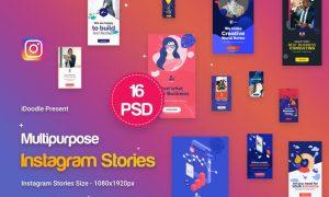 Instagram Stories Multipurpose, Business Ad