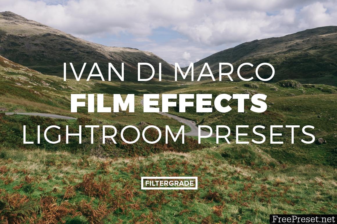 Ivan Di Marco Film Lightroom Presets