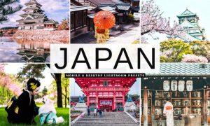 Japan Mobile & Desktop Lightroom Presets